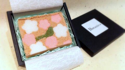 春のお干菓子(梅とウグイス)